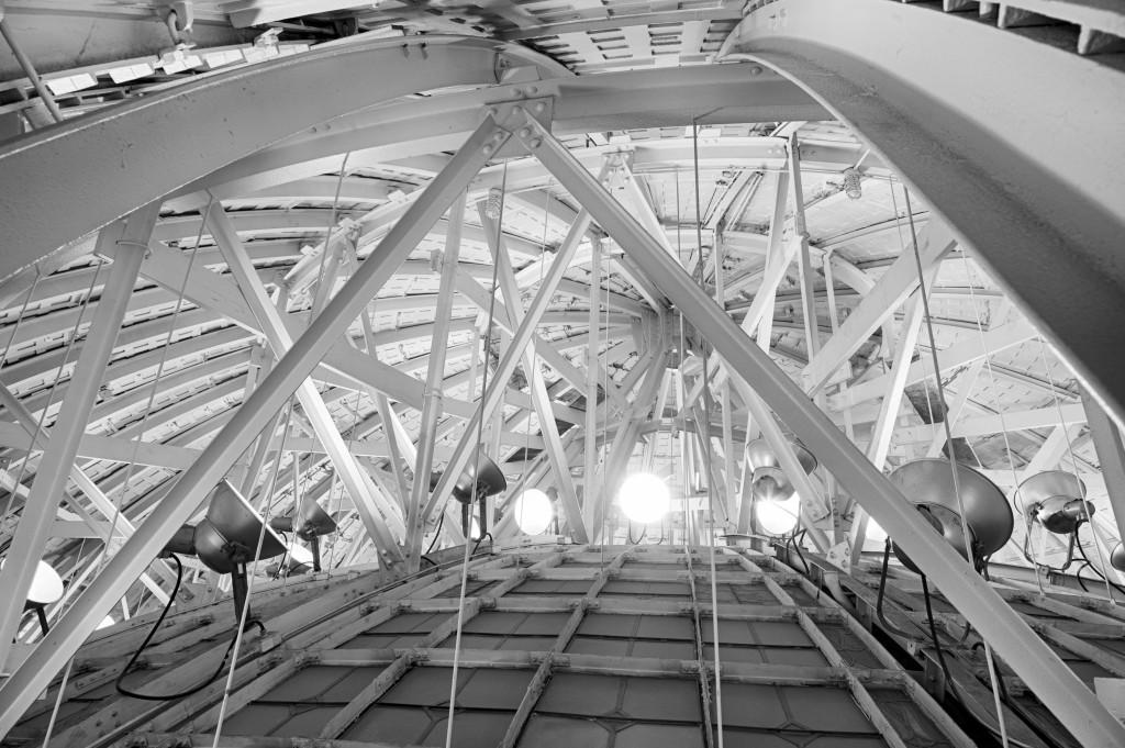 Inside the Rotunda Dome