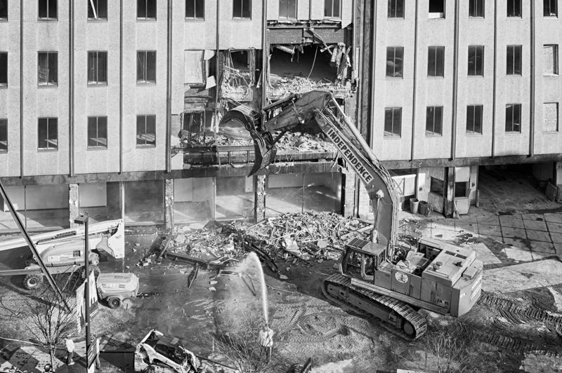 Demolition Begins - April 9, 2013