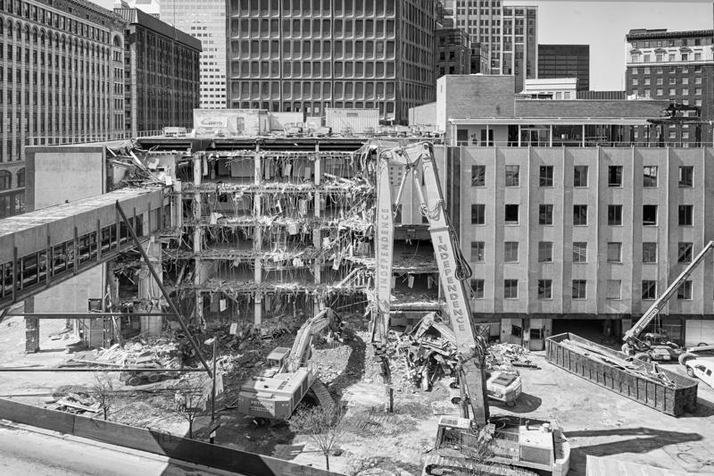 Demolition Continues - April 22, 2013