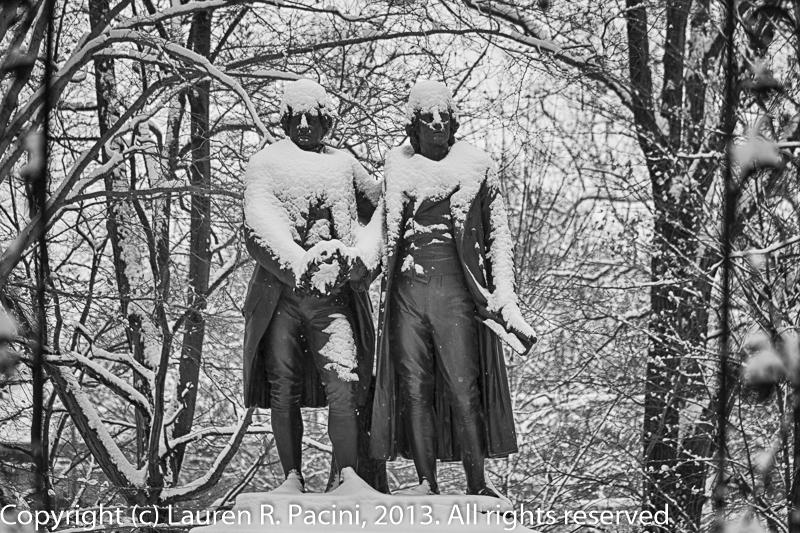 Johann Goethe & Frederich Schiller