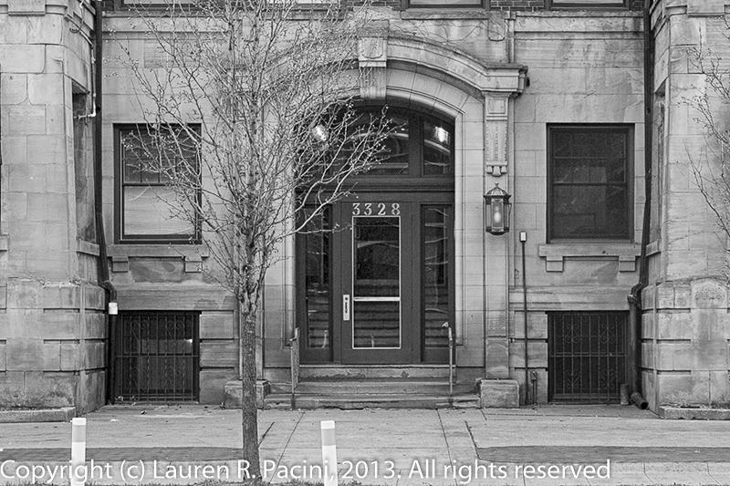 Main Entrance to the Stockbridge Hotel