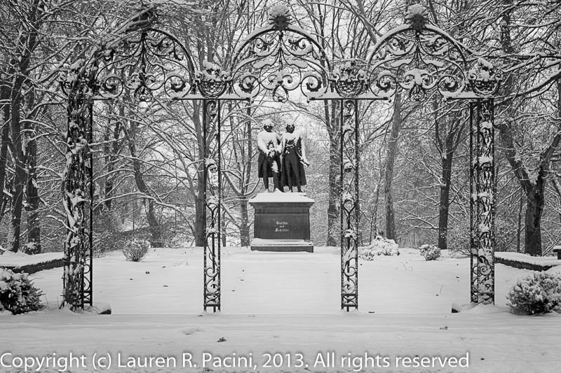 The Entrance to the German Garden
