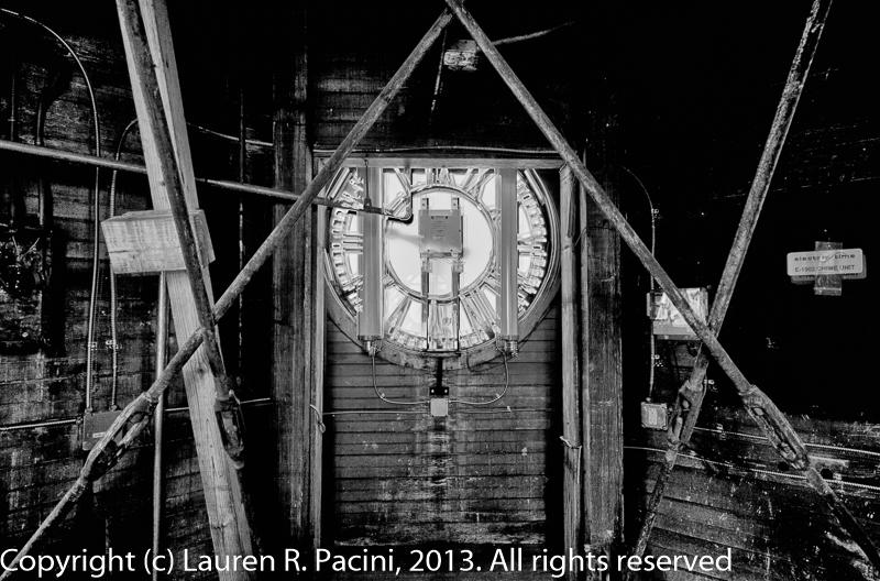 Inside the Clock Tower at Saint Luke's