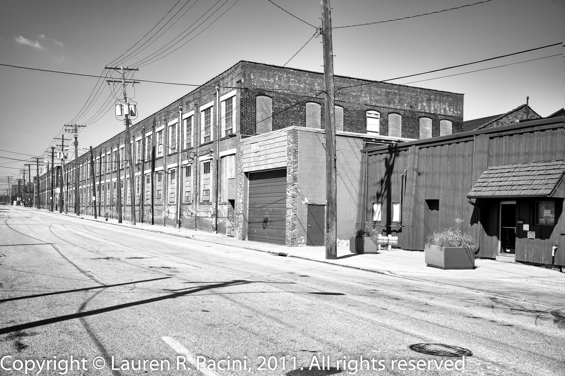 Winton Motor Carriage Company Factory at Berea Road & Madison Avenue, Cleveland, Ohio
