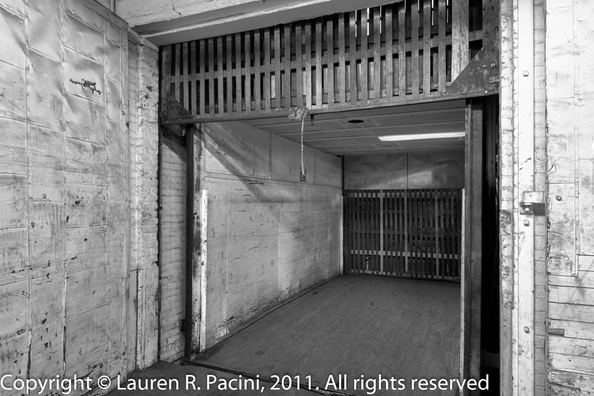 Original Elevator Inside the Winton Factory